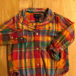 Ralph Lauren 2T button down shirt